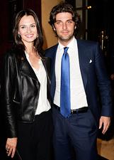 Anna Safroncik e Paolo Barletta al teatro Ghione per 'Compagni di banco': le foto
