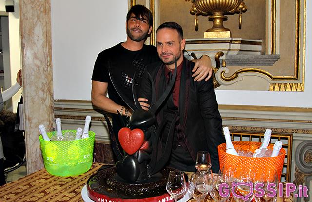 Antonello Lauretti con l'amico di sempre Giacomo Urtis