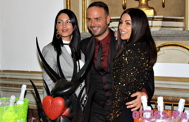 Antonello Lauretti con Pamela Compagnucci ed Eliana Michelazzo