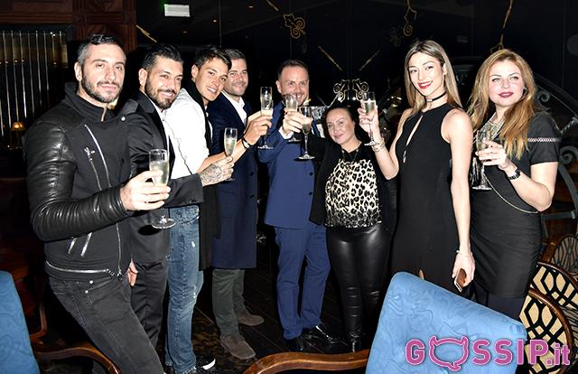 Tantissimi amici intervenuti per festeggiare il pr Antonello Lauretti