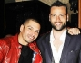 Cristiano Angelucci, Leonardo Tumiotto e Rocco Pietrantonio al compleanno di Lele Mora
