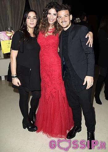 Alessandro Florenzi con la moglie Ilenia Atzori e Roberta Morise