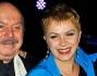 Lino Banfi e Gabriele Cirilli con Rosanna Banfi