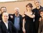il cast: Lorenza Indovia, Antonio Albanese, Sergio Rubini, Davide Giordano, Piero Guerra ed il regista Giulio Manfredonia alla conferenza stampa del film \'Qualunquemente\'