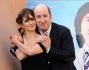 Lorenza Indovina ed Antonio Albanese alla conferenza stampa del film 'Qualunquemente'