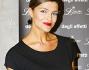 Cristina Chiabotto ha optato per un mini abito nero ed accessori casual