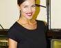 Cristina Chiabotto nella boutique capitolina