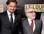Leonardo Di Caprio con due premi Oscar come Martin Scorsese e Jean Dujardin