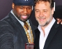 Russell Crowe e 50 cent
