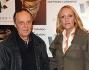 Dario Argento e Daria Nicolodi alla proiezione del documentario \'L\'ultimo Gattopardo - ritratto di Goffredo Lombardo\' presso l\'Auditorium di Roma