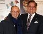 Giuseppe Tornatore e Guido Lombardo alla proiezione del documentario 'L'ultimo Gattopardo - ritratto di Goffredo Lombardo' presso l'Auditorium di Roma