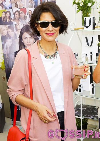 Anche Giulia Bevilacqua all'evento Almacare 'La moda cambia, la bellezza resta'