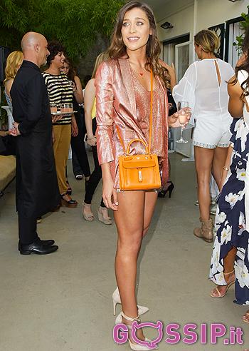 Ludovica Frasca  all'evento Almacare 'La moda cambia, la bellezza resta'