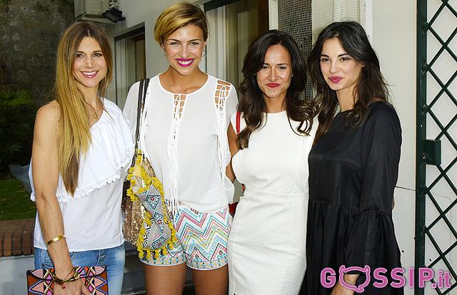 Nicoletta Romanoff, Cristina Chiabotto, Michela Coppa e Francesca Chillemi