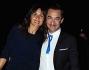 Nicola Savino con la moglie