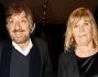 Gigi Proietti con la moglie Sagitta alla prima di \'Show!Tutti insieme abbondantemente\'