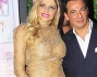 Francesca Cipriani insieme al suo manager Paolo Chiparo