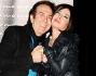 Francesca Rettondini con l\'amico Giucas Casella alla festa di compleanno al Mo\'Mo\' Republic di Roma