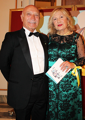 Filippo Lucibelli e Biancamaria Caringi