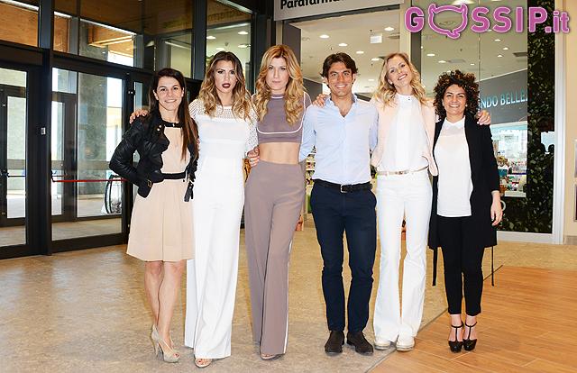 Raffaella Zardo, Claudia Galanti, Veridiana Mallmann, Alberto Storace, Valentina Giorgi e Sara Tassinati