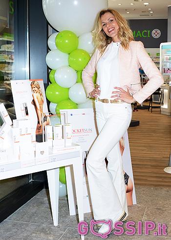 Veridiana Mallmann ad Arese per Cosmetics Milano