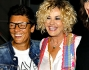 Vladimir Luxuria e Simona Ventura al Gay Village con Imma Battaglia ed Eva Grimaldi