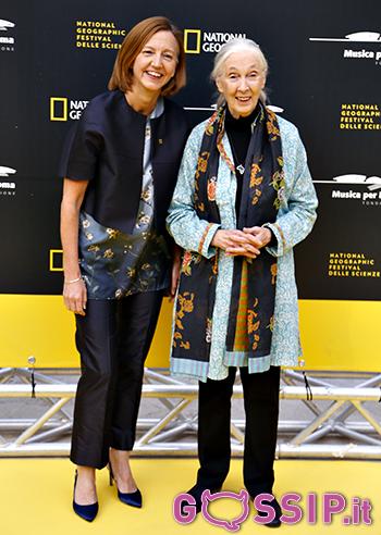 Jane Goodall e Kathryn Fink