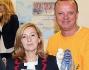L'Editore Piero Graus con la madre di Ciro Antonella Leardi ed il noto contante Gigi D'Alessio