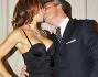 Baci da flash per Nadia Bengala ed il marito Alessandro alla presentazione del calendario di Miss Italia