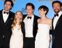 Eddie Redmayne, Sacha Baron Cohen, Helena Bonham Carter, Amanda Seyfried, Hugh Jackman e Anne Hathaway