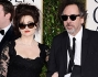 Helena Bonham Carter e suo marito, il regista Tim Burton