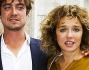 Riccardo Scamarcio e Valeria Golino per l'inaugurazione della mostra personale di Irene Petrafesa