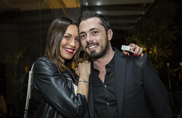 Andrea Graffagnini e Debora Salvalaggio