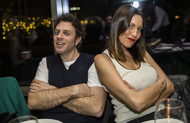 Gabriele Parpiglia e Debora Salvalaggio