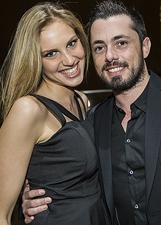 Arca, Cascella, Cioni e gli altri vip al compleanno di Andrea Graffagnini: le foto