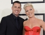 Pink e suo marito Carey Hart