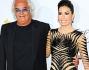 Al fianco della bella showgirl Elisabetta Gregoraci non poteva mancare il marito Flavio Briatore