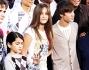 Prince, Blanket e Paris Jackson con Justin Bieber alla cerimonia d'onore per il Re del Pop