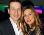 Alessandro Greco e Beatrice Bocci all'inaugurazione del Dubai Palace