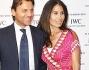 Alessio vinci e la moglie Juliet all'inaugurazione della boutique IWC