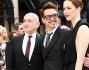 Rebecca Hall, Ben Kingsley e Robert Downey Jr sul red carpet londinese di Iron Man 3