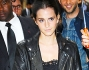 Emma Watson alla sfilata di Valentino per la Fashion Week di Parigi