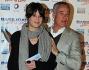 L\'allenatore della A.S. Roma Claudio Ranieri con la moglie