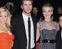 Elizabeth Banks, Josh Hutcherson, Jennifer Lawrence e Liam Hemsworth hanno presentato a Los Angeles 'The Hunger Games - la ragazza di fuoco'