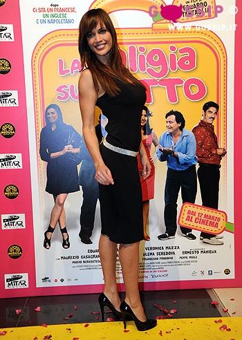 Roberta giarrusso alla premiere foto e gossip - La valigia sul letto film ...