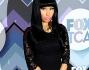 Nicki Minaj in pizzo total black per il Fox All-Star Winter Party