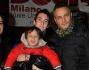Claudio Brachino con la famiglia