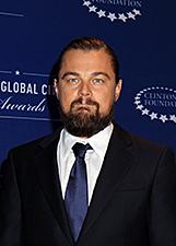 Leonardo di Caprio, look selvaggio all'Onu