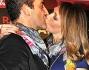 Ludmilla Radchenko e Matteo Viviani al bacio per la gioia dei fotografi