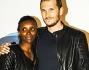 Alvin e la moglie Kali Wilkes alla premiere di Maleficent a Milano